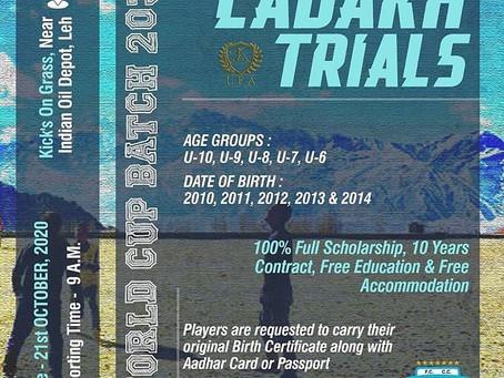 Minerva Punjab Leh trials | UPCOMING FOOTBALL TRIALS IN INDIA