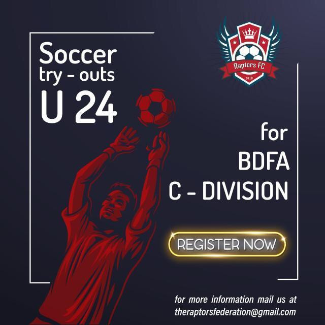 Raptors FC | Upcoming football trials in India