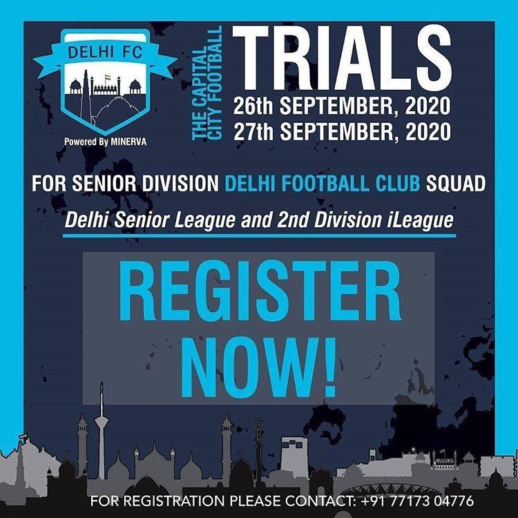 Delhi FC football trials | Upcoming football trials in India