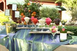 Outdoor Wedding Salad Bar