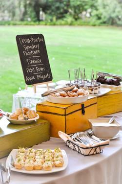 Wine Country Dessert Buffet
