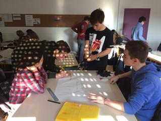 Declic rend les élèves créatifs au lycée La Rochefoucauld