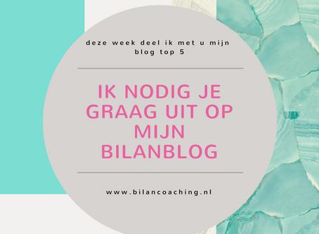 Nummer twee van de top vijf Bilanblogs