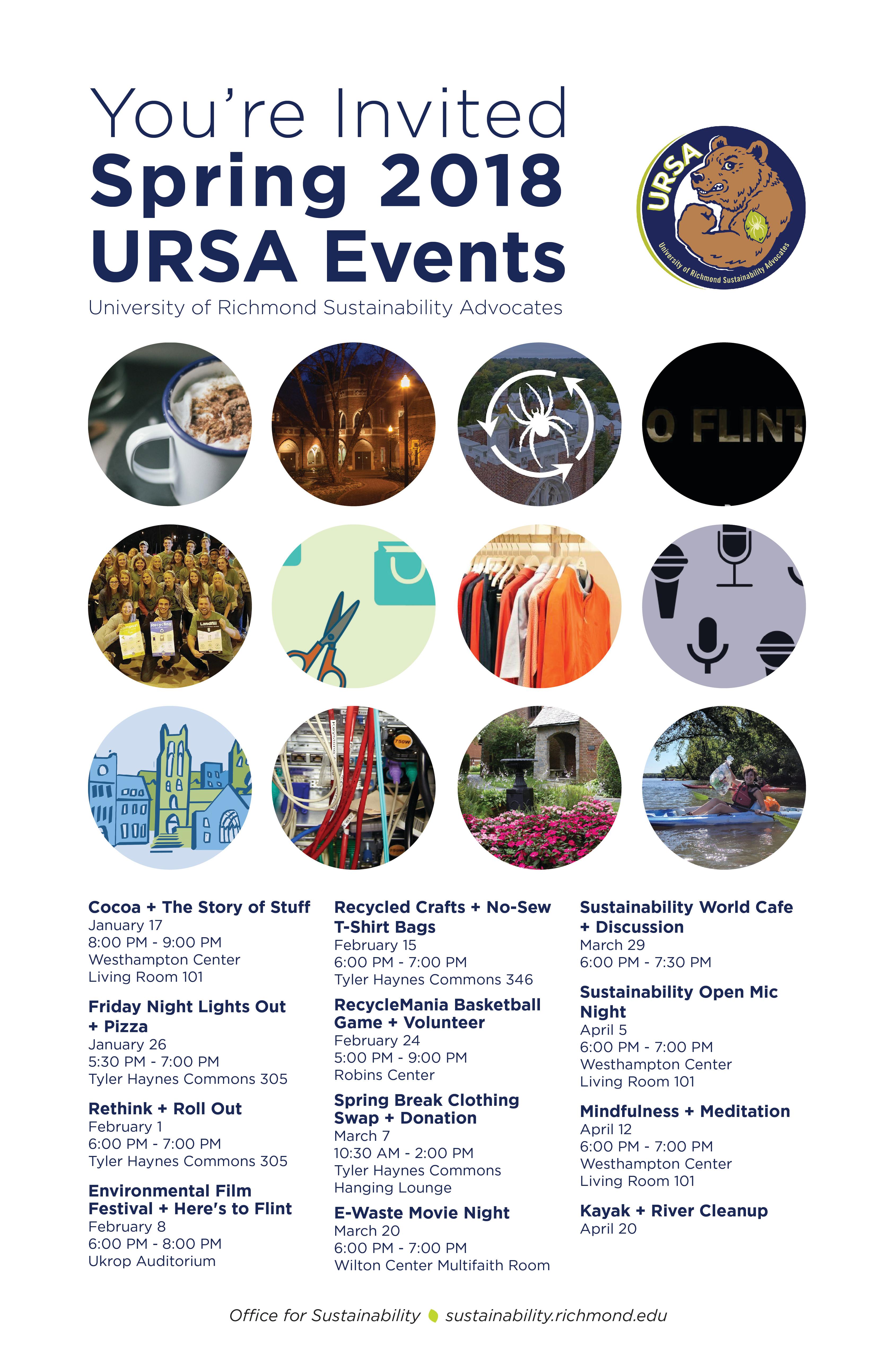 URSA Event Poster