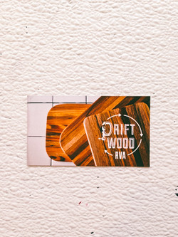 Driftwood RVA Logo & Business Cards