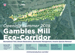 Eco-Corridor Construction Sign
