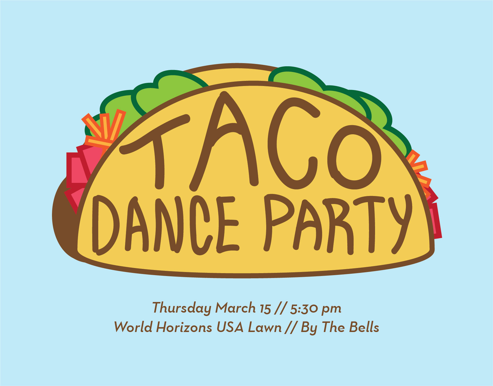 Taco Dance Party Invitation