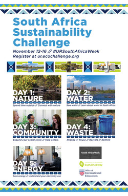 Sustainability Challenge Poster