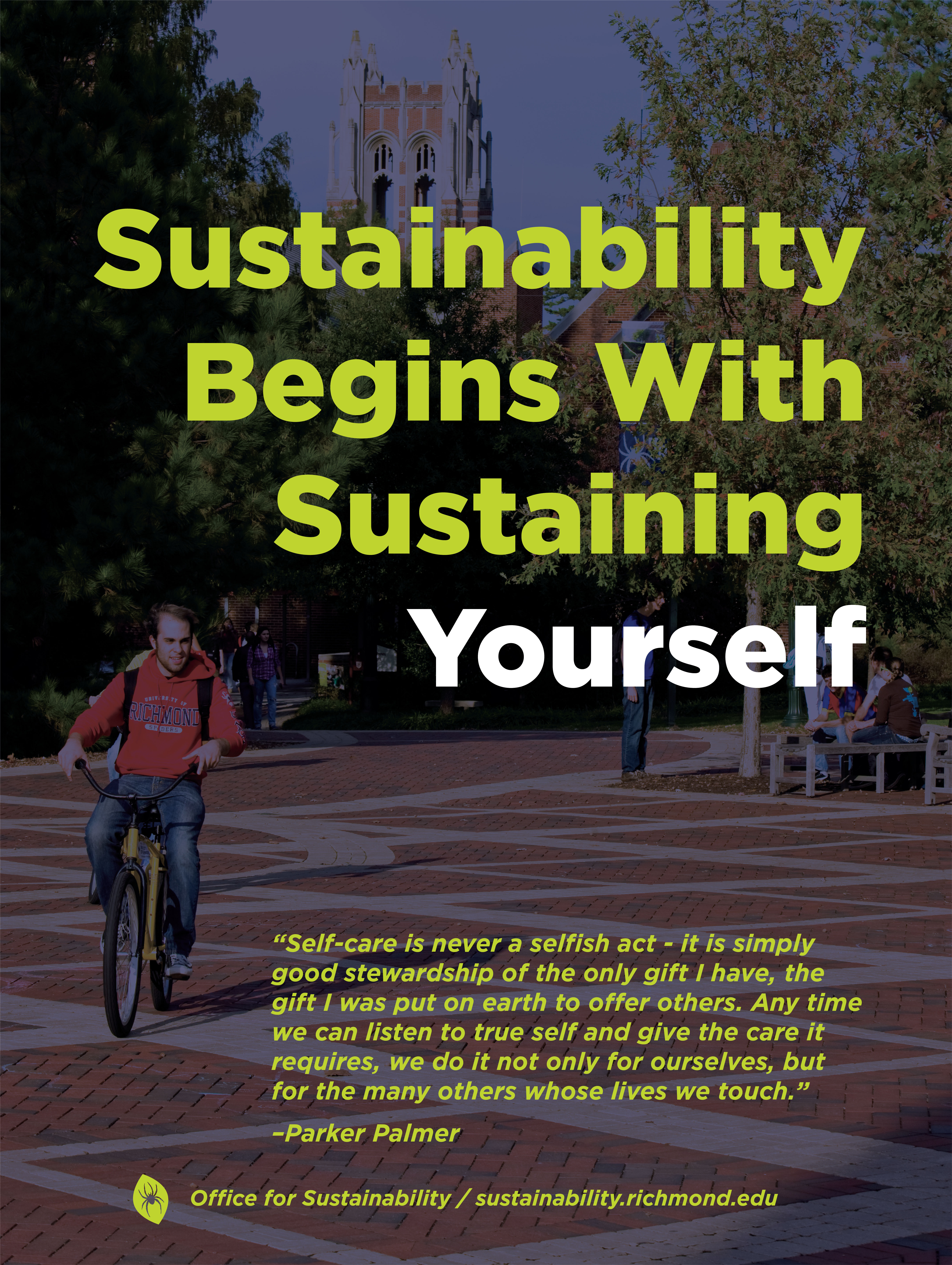 Sustainability Wellness Poster