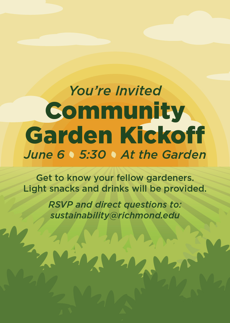 Community Garden Invitation