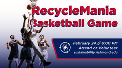 RecycleMania Basketball Promotion