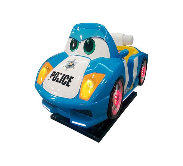 Police Car (Blue)