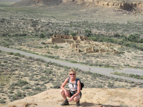 Chaco Canyon Ruins, New Mexico USA