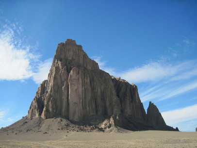 Shiprock New Mexico USA