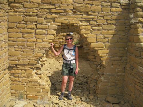 New Alto Ruins, Chaco Canyon, New Mexico USA