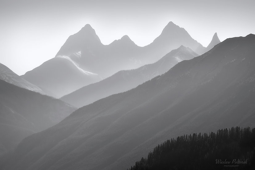 Distant Mountain, Kootenay National Park