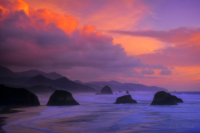 Passing Storm over Ecola SP