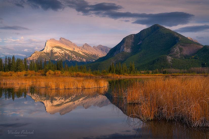 Vermilion Lakes Tranquility, Banff National Park