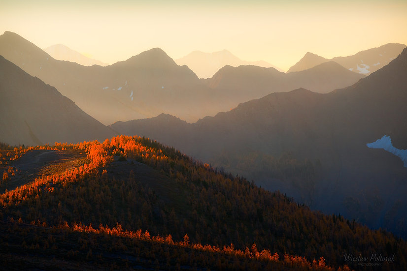 View from Above, Kootenay National Park
