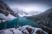 Moraine Lake - in White