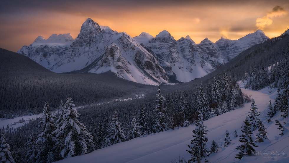 Valley of Ten Peaks, Banff National Park