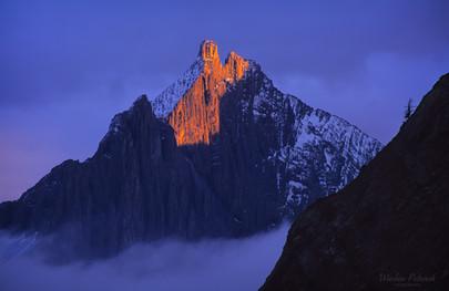 Flash of Light on Mt. Robertson