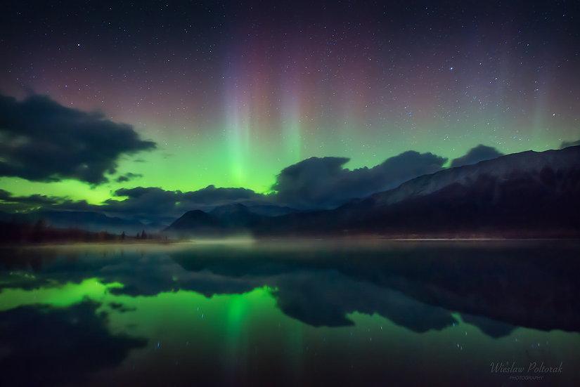 Night on the Lake, Alberta