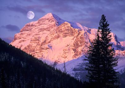 Sunrise on Mt. Kidd