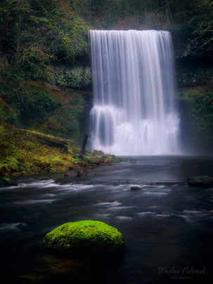 Late Autumn at Silver Falls SP