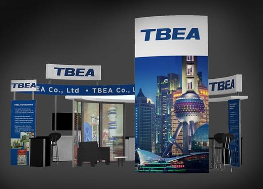 TBEA 20 x 30 Tradeshow Booth