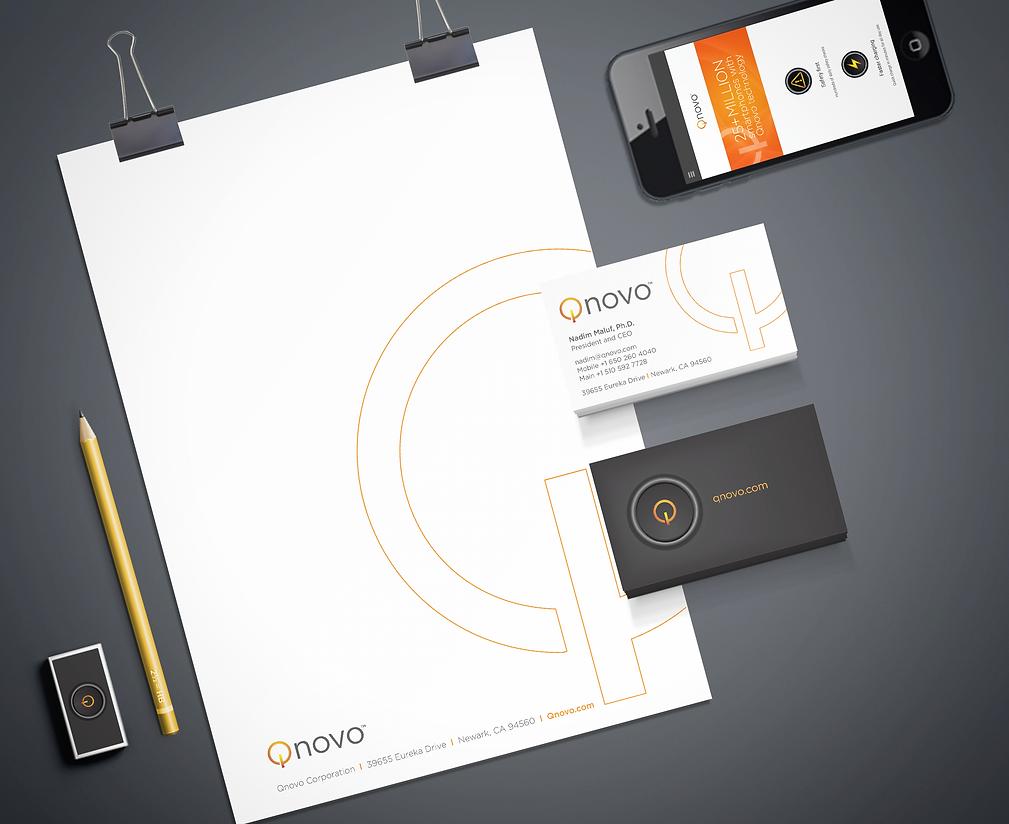 Qnovo Business System & Logo