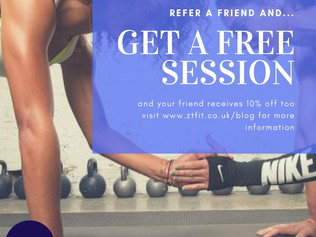 Get a FREE session when you refer a friend