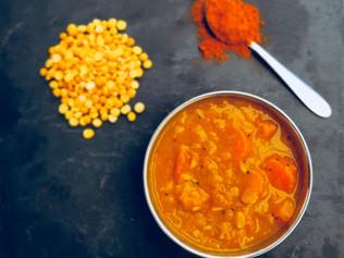 Sambar Recipe - protein rich dish