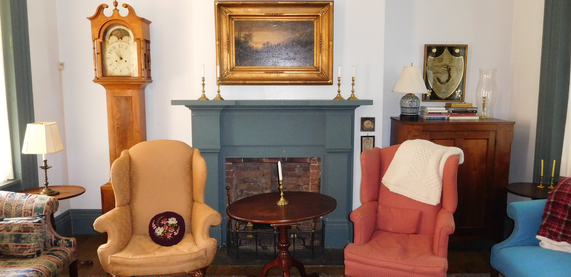 View of the Chillingworth living room