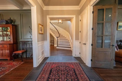 Large, welcoming entry