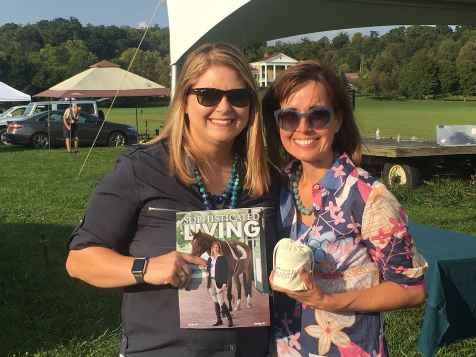 At the Sophisticated Living Columbus Polo Cup with friend Amber Runyon, founder of Eleventh Candle Company. Editing and producing Sophisticated Living Columbus has been a privilege and a joy, strengthening my connection to the central Ohio community in ways I never could have imagined.