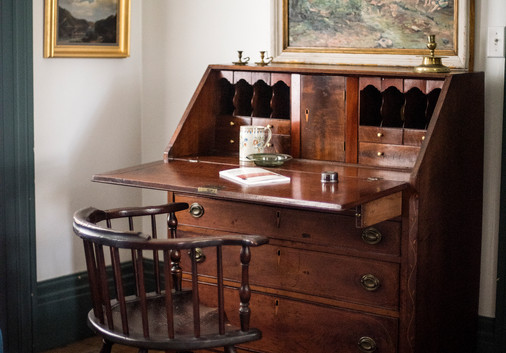 The Chillingworths' enthusiasm for the decorative arts of Western Pennsylvania is evident throughout the collection and inventory