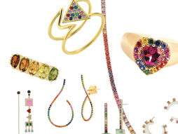 RAINBOW CONNECTION: Colored Gemstones to Wear with Pride