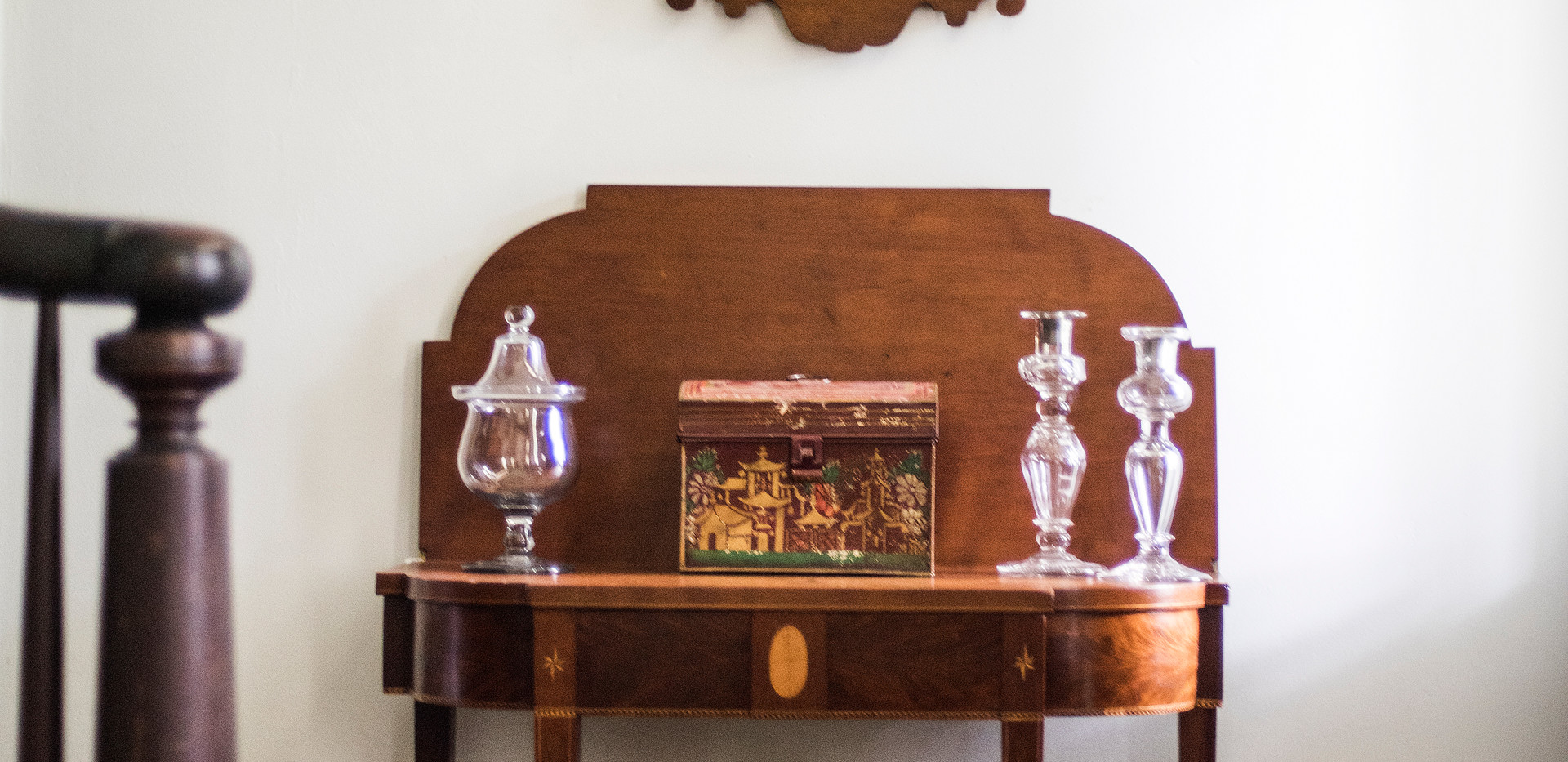 Personal collection includes a fine assortment of Federal, Chippendale & Queen Anne American furniture and decorative arts