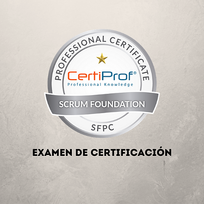 Examen Scrum Foundation Professional