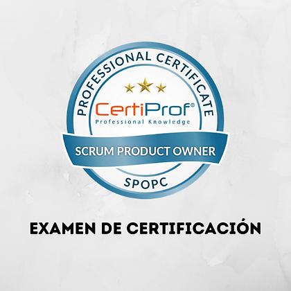 Examen Scrum Product Owner Professional