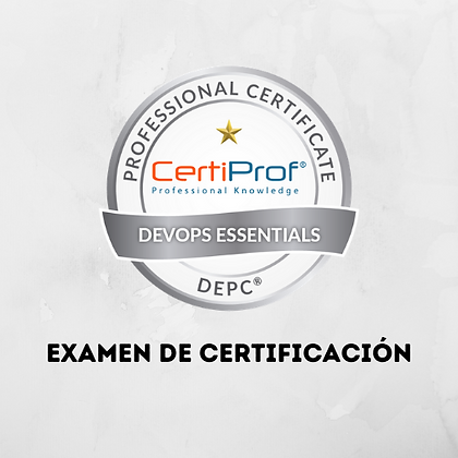 Examen Devops Essentials Professional