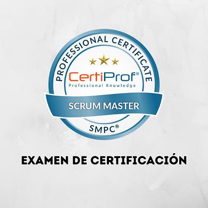 Examen Scrum Master Professional