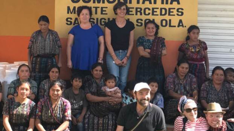 Water filter donation to school in Guatemala