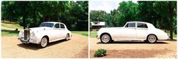 Antique car for exit