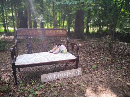 Unveiling our Woodland Wedding