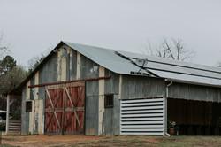 West Side of Barn