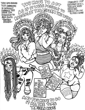 Coloring Page For Song