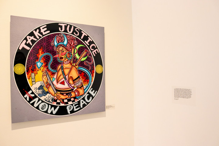 Take Justice Know Peace and Artist State