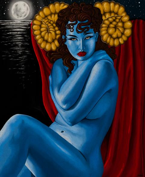 Moonlit Goddess